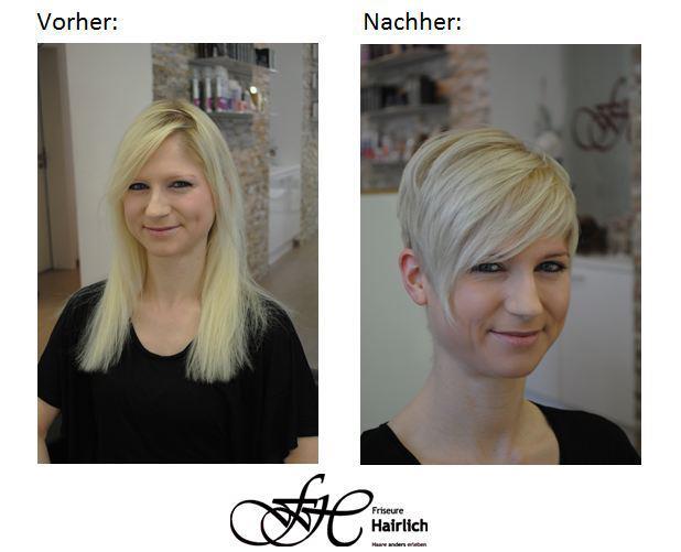 Hairblog Bilder U A Vorher Nachher