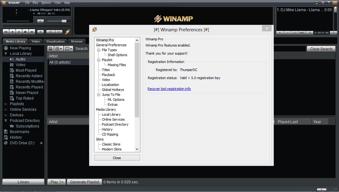 Винамп 64 бит