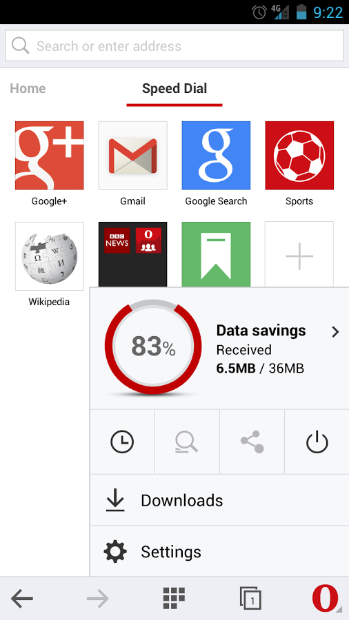 Download Opera Mini Beta Android Terbaru