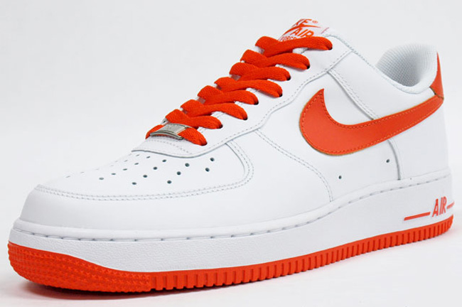womens nike air force 1 red orange