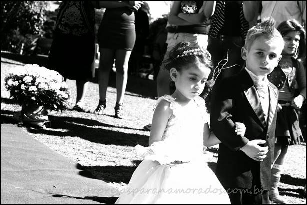 dama e pajem de casamento