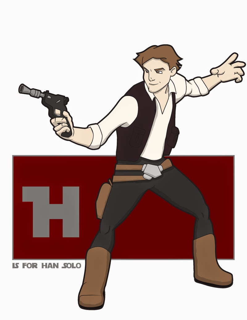 http://www.jksketch.com/daily/h-is-for-han-solo/