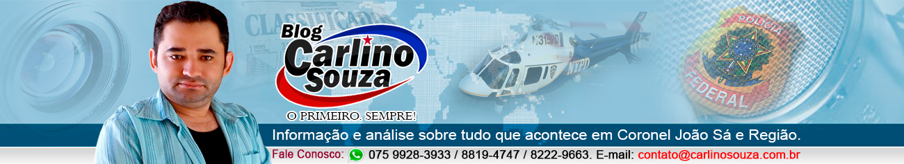 Blog do Carlino Souza - Coronel João Sá, Bahia