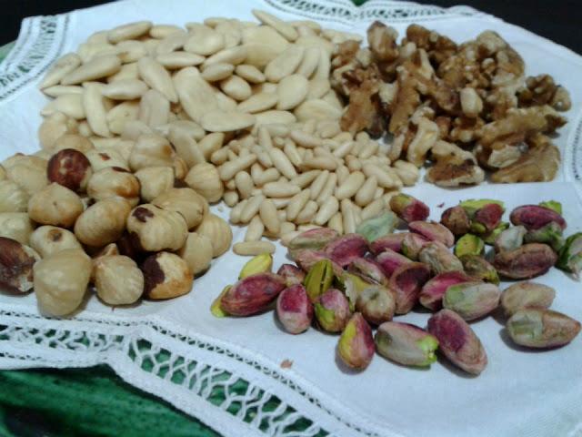 Seleccionamos los frutos secos