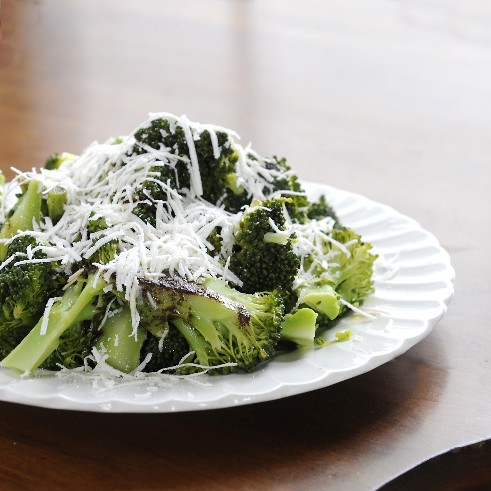 Recipe: Brown Butter Broccoli with Mizithra Cheese
