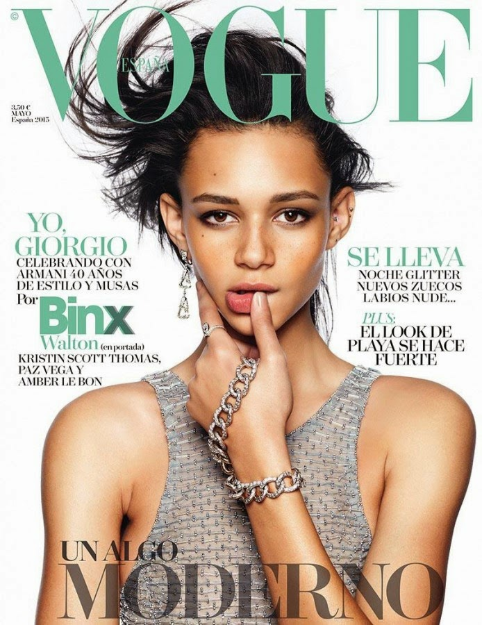 Model @ Binx Walton for Vogue Spain, May 2015
