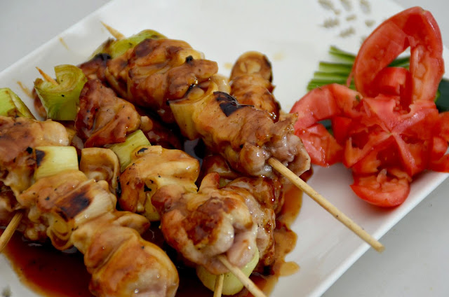 Chicken Yakitori with Teriyaki Sauce Recipe