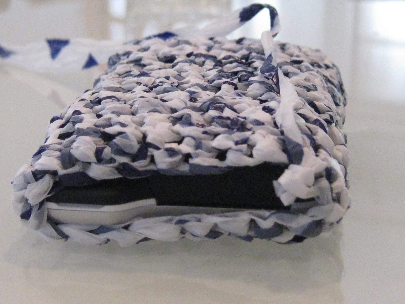 littlest crafts haekeln mit plastiktueten. Black Bedroom Furniture Sets. Home Design Ideas
