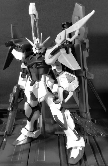 HGCE and HGBF Perfect and Build Strike Gundam Kitbash