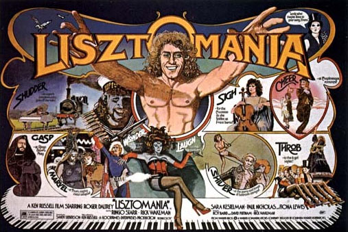 Lisztomania movie poster