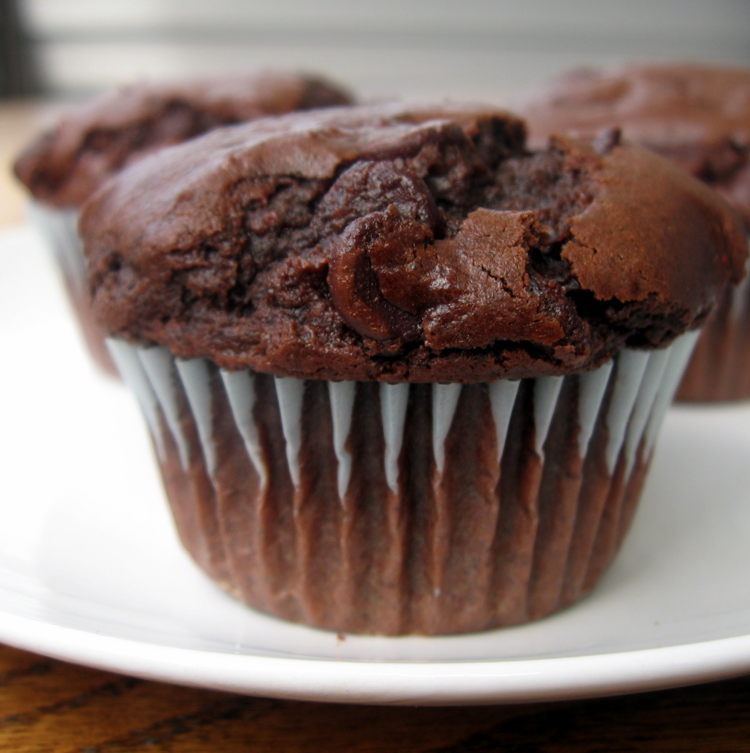 the nonpareil baker: Double Chocolate Chip Muffins