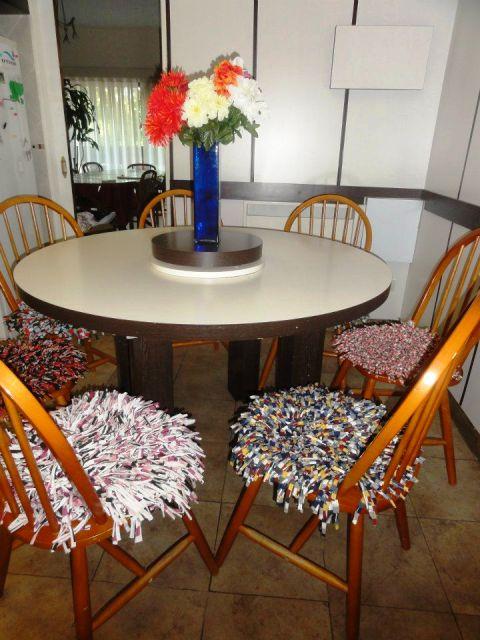 Almohadones para sillas almohadones para sillas como - Como hacer cojines para sillas de comedor ...