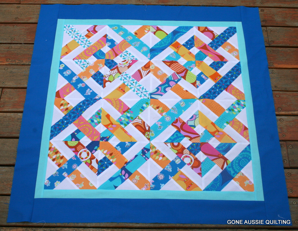 Gone Aussie Quilting Caned Seat Quilt Mini