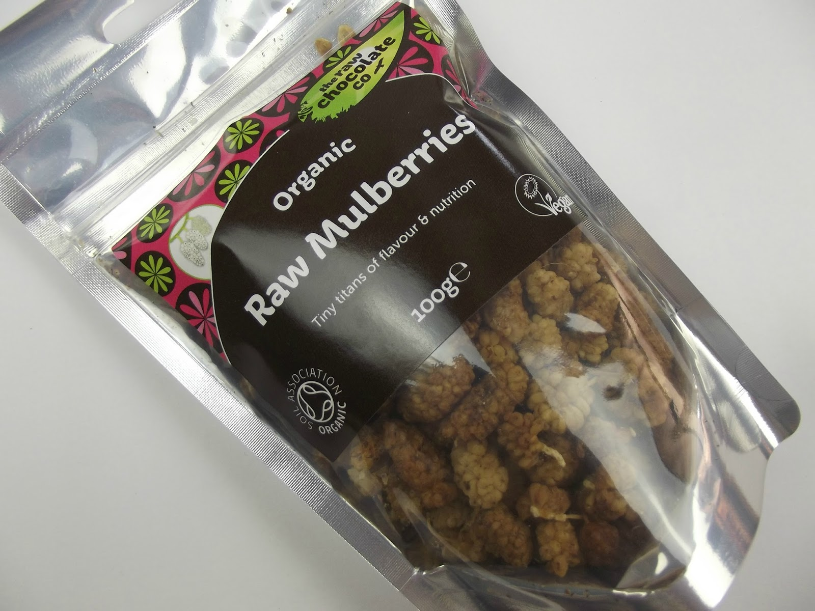 The Raw Chocolate Co Raw Mulberries