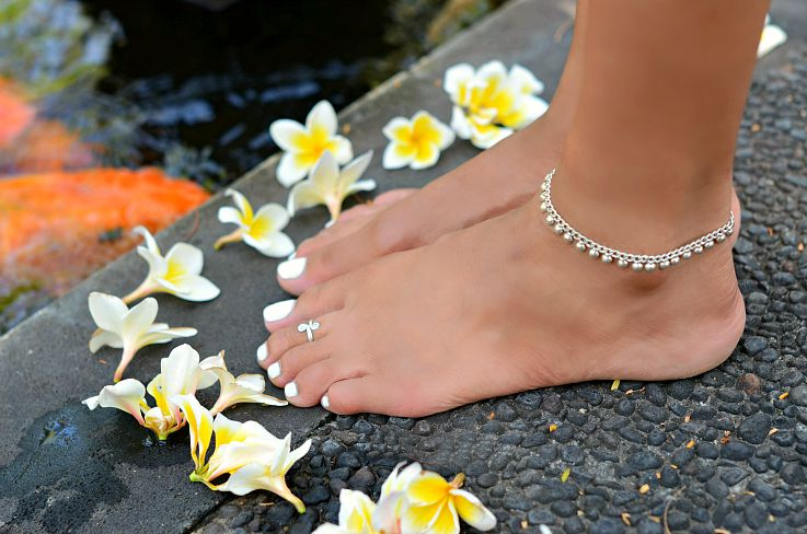 Silver Toe ring, Silver Ankle bracelet, Bali Silver, Bali, Indonesia