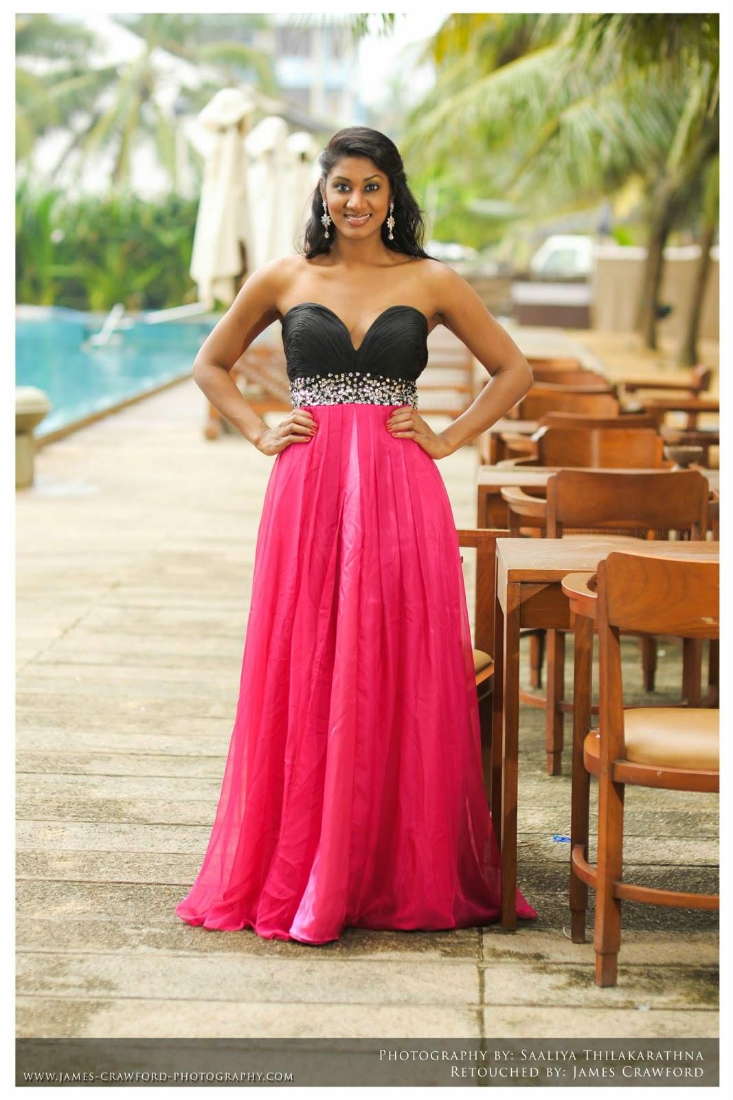 Milana Gamage pink