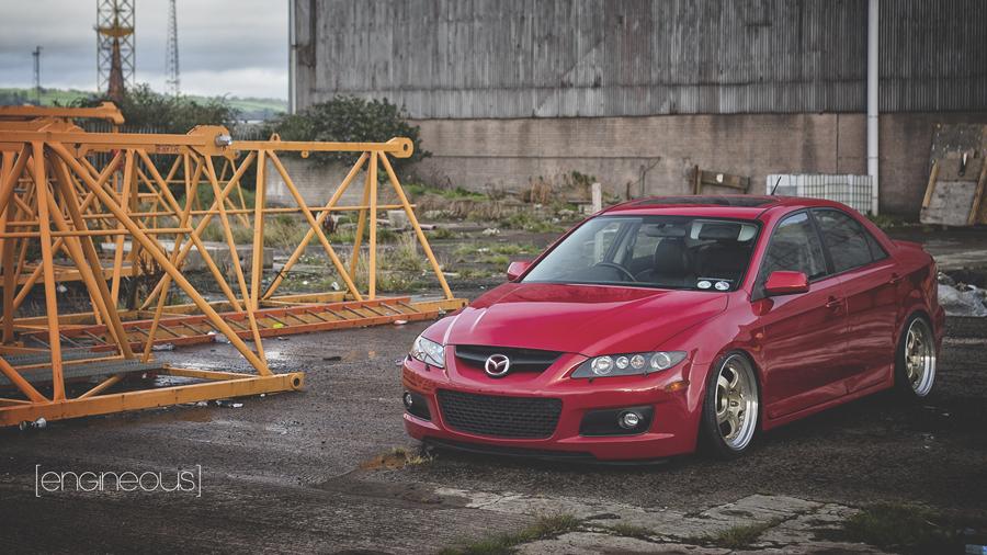 Mazda 6 MPS, japoński sedan, motoryzacja, piękny design, ciekawy, sportowe sedany, zdjęcia
