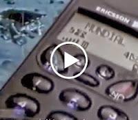 Campanha institucional do celular Ericsson em 1999.