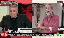 """Willy Toledo """"Me limpio el culo con esta democracia"""""""