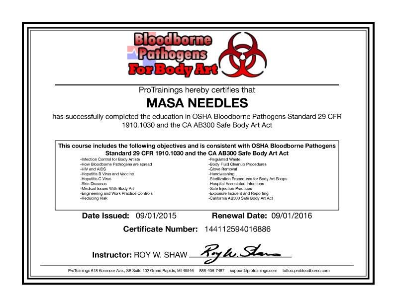Bloodborne-Pathogens 2015