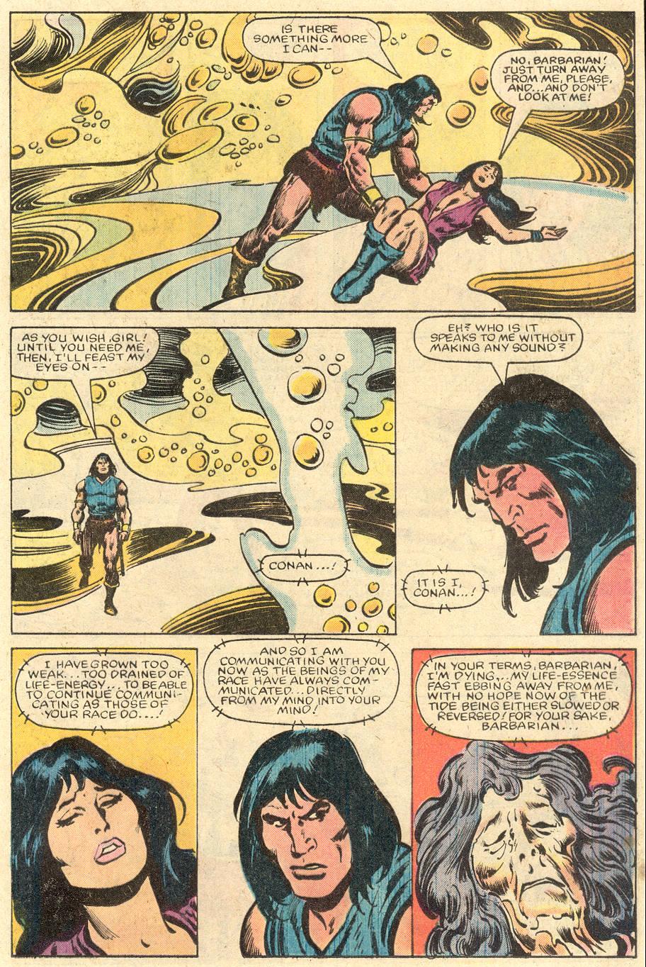 Conan the Barbarian (1970) Issue #150 #162 - English 18