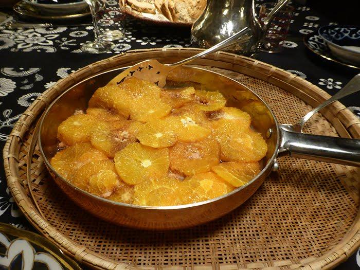 Salmone e arance, un piatto del Settecento inglese