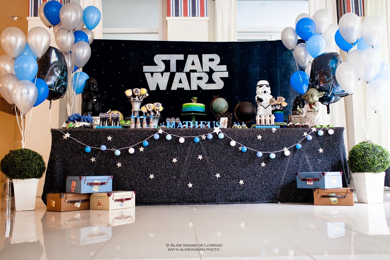 decoracao festa star wars:Adriana Gaspar e Marcela Castro: Festa Star Wars!