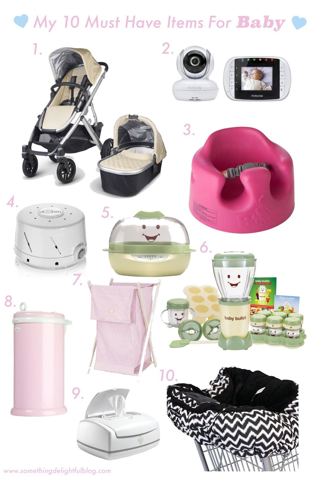 Something Delightful : Favorite Baby Items