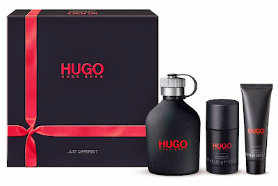 Jared Leto Christmas greetings, hugo red, hugo just different, fragrance