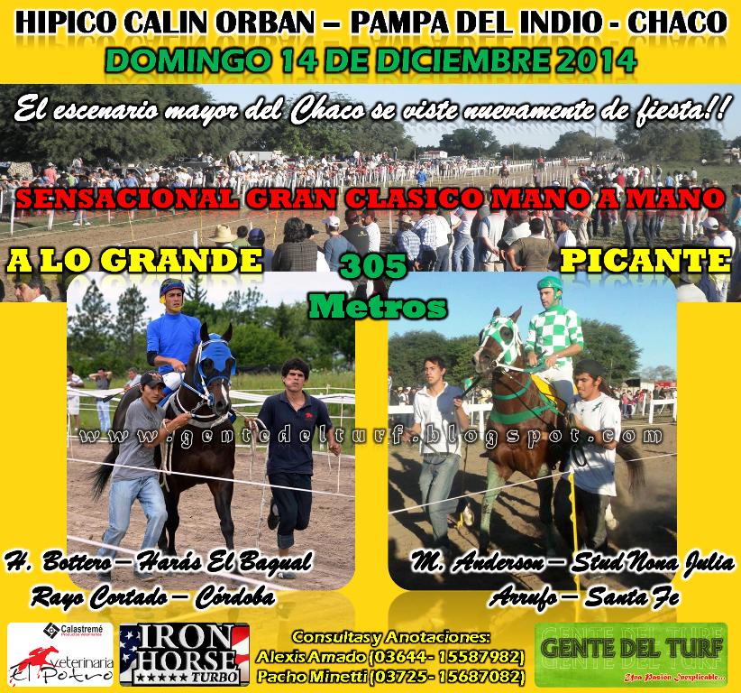 Pampa del Indio 14-12 Clasico