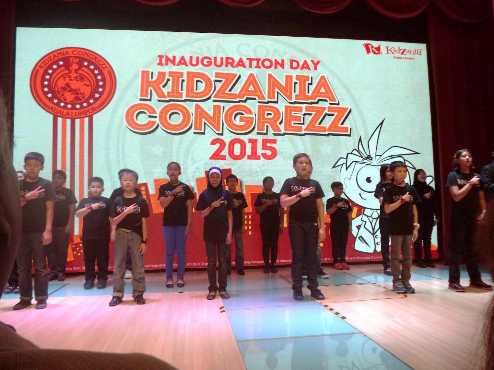 kidzania congrezz kids