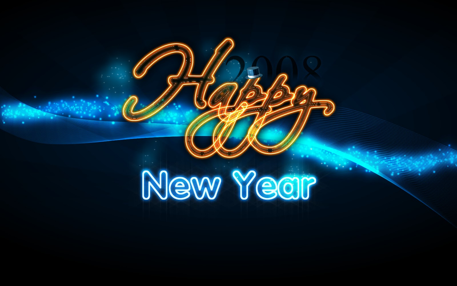 happy new year achtergronden hd wallpapers