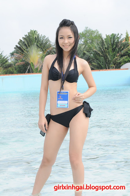 Hoa khôi áo tắm, miss bikini Vietnam, hình ảnh girl xinh bikini 22