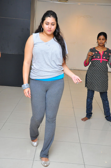 namitha dance reharsal hot photoshoot