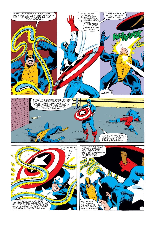 Captain America (1968) Issue #281 #197 - English 22