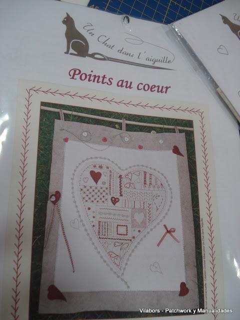 Kit Un Chat dans l'aiguille - Points au coeur - Vilabors