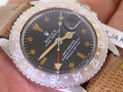 ROLEX GMT MASTER MK1 LONG E BROWN BEZEL - ROLEX 1675
