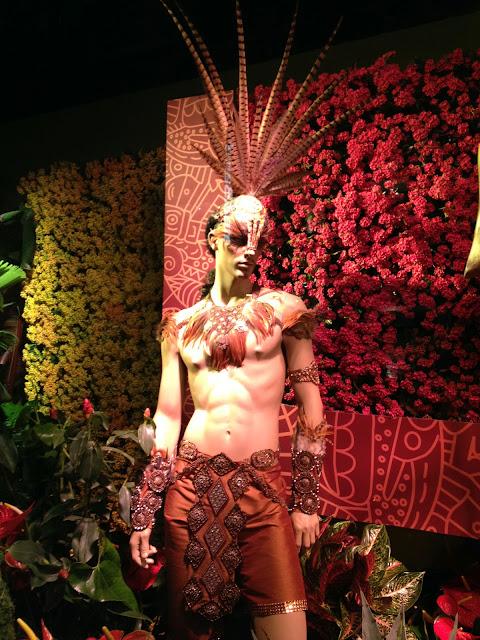 "by Jake: ""Brasil"" Macy's Flower Show Window, San Francisco, CA"