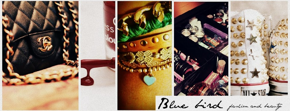 Blue bird, fashionbeauty