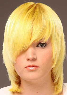 Chick Yellow Hairstyle