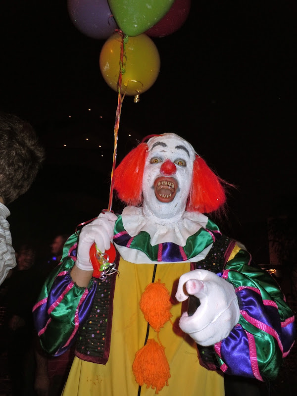 West Hollywood Halloween IT clown