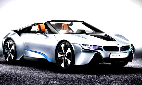 Super BMW i8 Concept Spyder 2016 Car Review