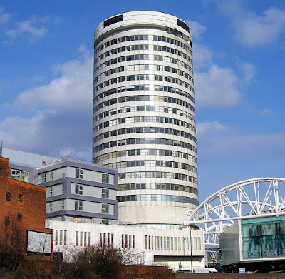 The Rotunda Birmingham - pre-refurbishment.