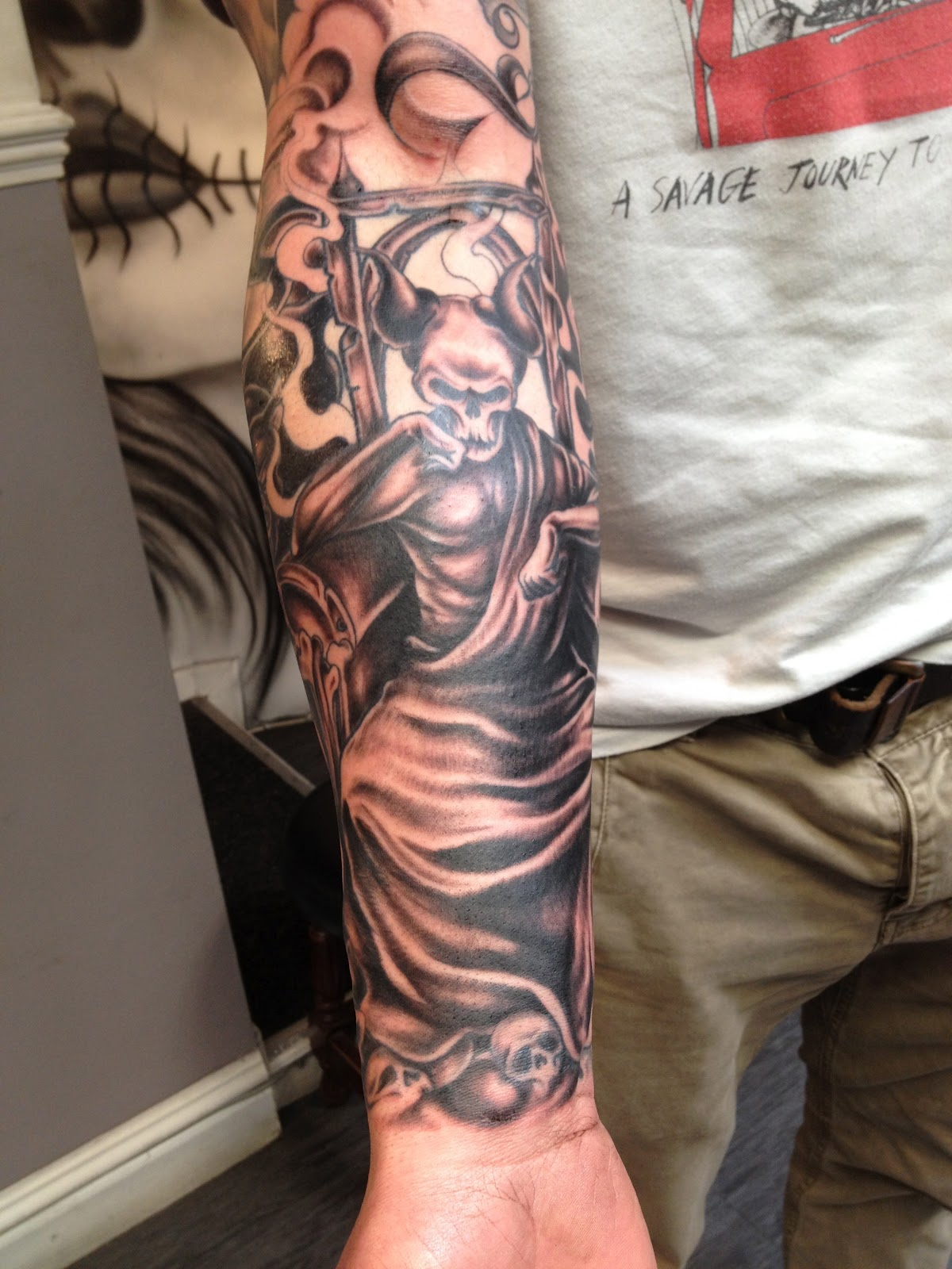 greek gods sleeve