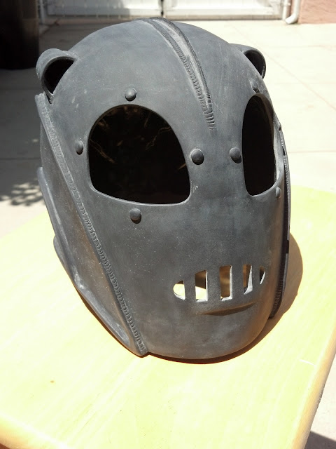 Rocketeer prop replica helmet kit by Oz DeShaw