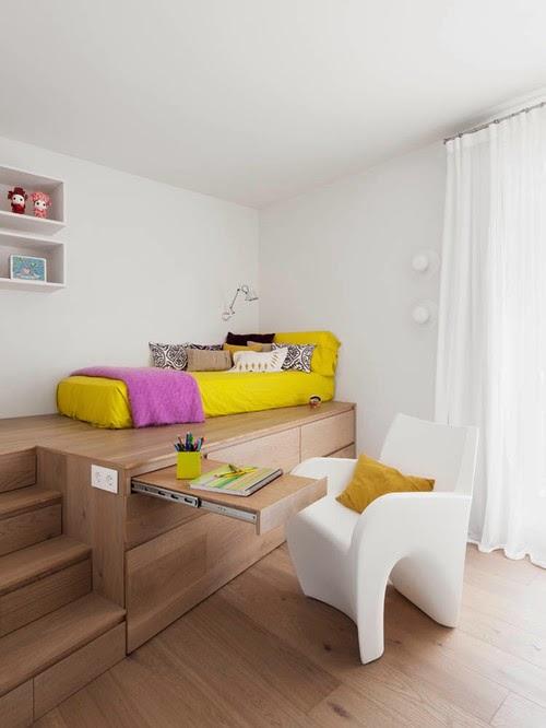 Desain kamar tidur anak cantik