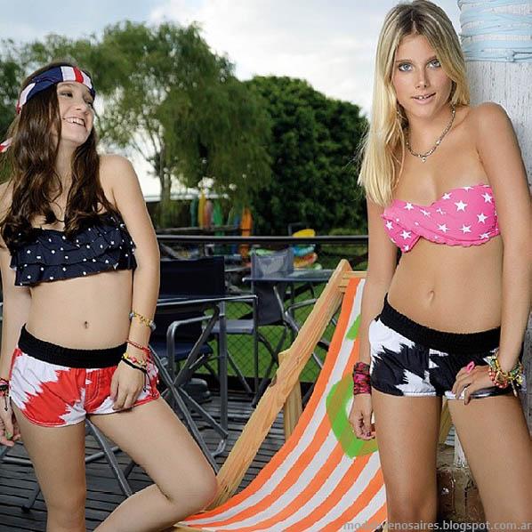 Moda bikinis 2014. Sweet Victorian 2014.
