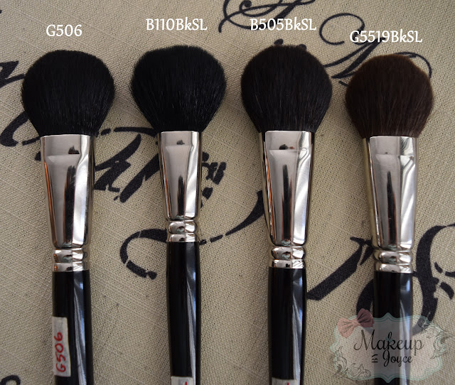 Hakuhodo G5519BkSL vs B505 Brush Review