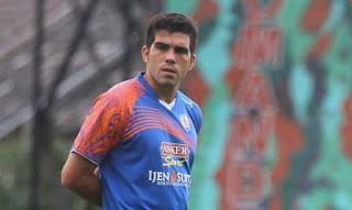 Fabiano Beltrame Siap Gantikan Vujovic di Persib Bandung