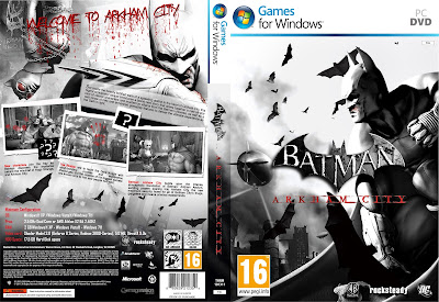 Batman Arkham City PC DVD Capa